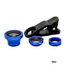 Clip on lenses for smartphone camera - Blue